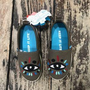 Native kids Evil eye shoes